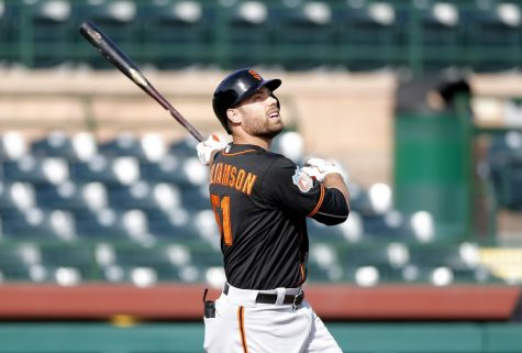Former Giant Mac Williamson sues Oracle Park owners after 2018 diving crash