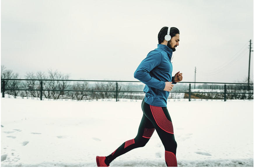 What to wear when running in cold air