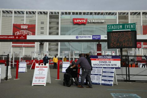 A new vaccination site at Levi Stadium
